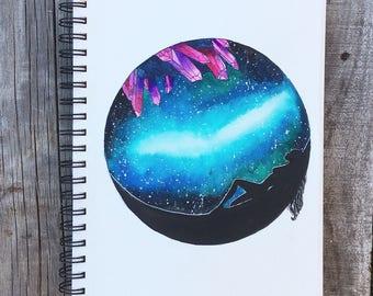Galaxy star girl