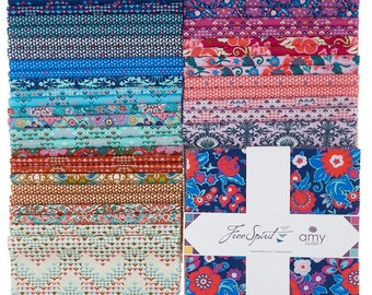 """Soul Mate 10"""" Squares by Amy Butler for Free Spirit Fabrics"""