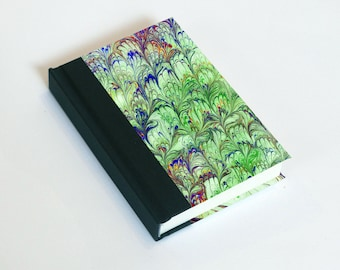 """Sketchbook 4x6"""" with motifs of marbled papers - 4"""