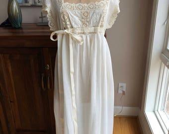 1920s wedding etsy vintage 1920s wedding nightgown junglespirit Choice Image
