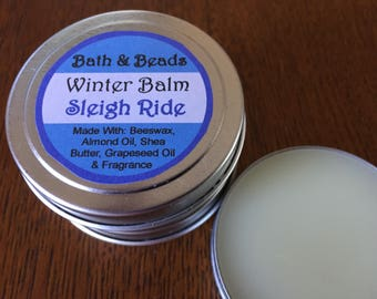 Sleigh Ride Winter Balm for Dry Rough Skin