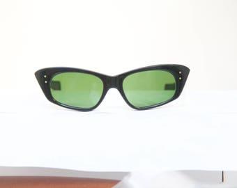 Cateye 1950s Sunglasses  OHH La La  / Made in ITALY by SABRE