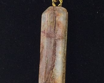 GIFT FOR HER, Pendent,Pendent Necklace, Petrified wood Pendent Necklace