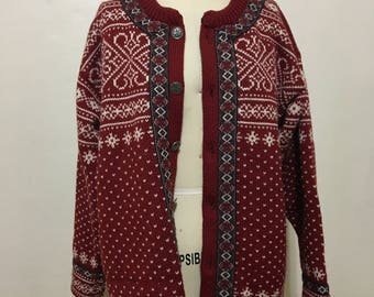 Authentic DALE of NORWAY SOFT Wool Sweater