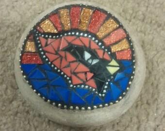 Arizona cardinal garden stone or paper weight