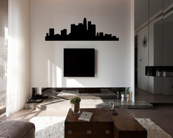 Los Angeles Skyline Wall Decal