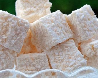 Marshmallow - Almond & Coconut - 12 Pieces Per Bag.