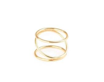 ON SALE Geometric Ring