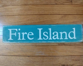 Fire Island Sign / South Shore / Long Island
