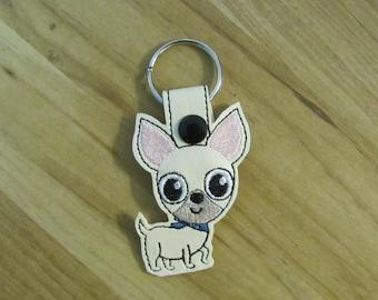 Chihuahua Key Fob
