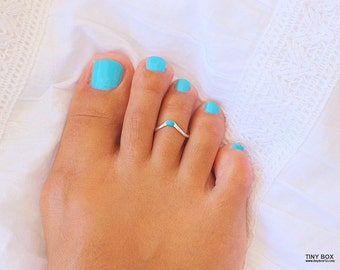 Chevron Toe Ring, Gold Toe Ring, Rose Gold Toe Ring, Toe Ring Sterling Silver, Foot Jewelry, Adjustable Toe Ring, Body Jewelry, Toe Rings