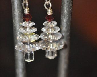 Sparkle Tree Earrings
