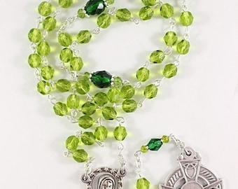 Celtic Catholic Rosary - Customizable