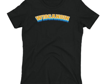Wiscansin Women's T-shirt // Beer T Shirt // Beer Can Tee // Funny Humor Shirt // Drinking T Shirt // Perfect Gift Wiscansin Tee