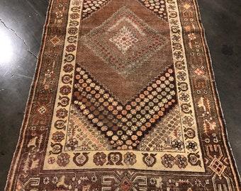 Antique Kashgar rug