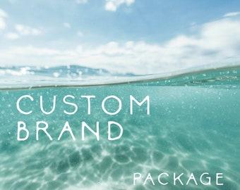 custom brand package by salt + cove