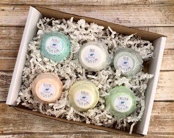 Shower Bomb Variety Pack of 6 - Sinus Allergy Congestion Relax Restore Refresh - Shower Melt - Aromatherapy - Shower Steamer -Variety Pack 1