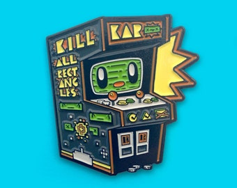 Arcade Buddy Retro Gaming Soft Enamel Lapel Pin