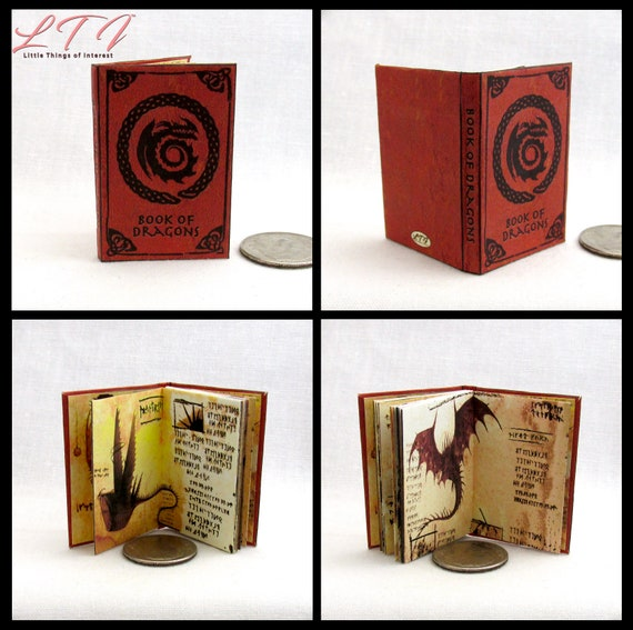 How To TRAIN YOUR DRAGON Book Of Dragons 1:6 Scale Illustrated Dragon Rider Berk Potter Magic Wizard Witch Phicen 1/6