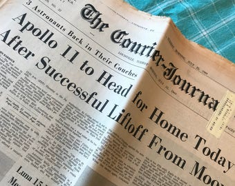 Apollo 11 newspapers