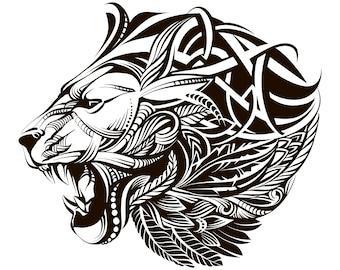 Download Lion clipart | Etsy