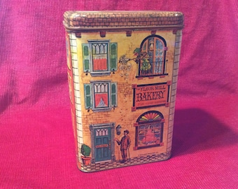 1979 Chein Industries, Inc. flour canister, the Flour Mill Bakery series, in excellent vintage condition