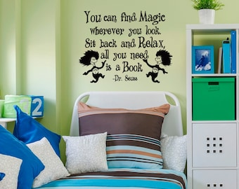 Dr Seuss Quotes Wall Decals Oh The Places Youll Go Wall