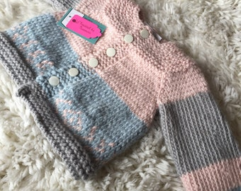 CHUNKY Knitted By Nanners Jacket Sweater