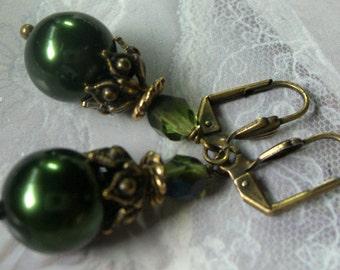 Castle Green Earrings