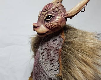 Froud inspired Pixie OOAK Art Doll