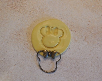 Mold, Minnie Mouse, silicone mold, craft mold, porcelain, resin, jewelry mold, food mold, pop up mold, clay's mold, flexible