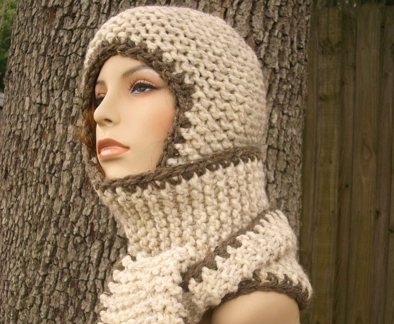 Instant Download Knitting Pattern - Knit Ear Flap Hat Pattern - Knit ...