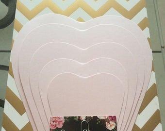 Hard Copy Templates- (MAILED)  DIY, wedding, baby shower , bridal shower, baptism
