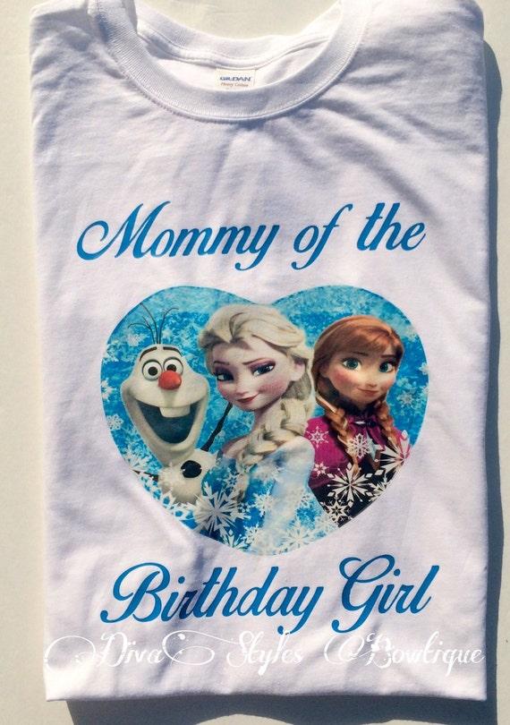 Frozen Birthday Shirt Frozen Birthday Outfit Anna Shirt