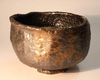 Traditional Japanese tea ceremony bowl, matcha chawan