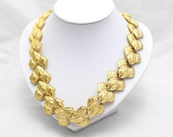 Vintage Gold-tone Napier necklace