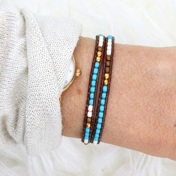 miyuki Beads Bracelet women wrap twice