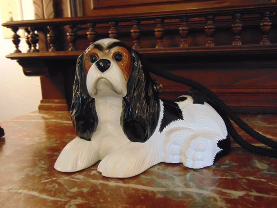 90s Timmy Woods King Charles Cavalier Spaniel Purse For Dog Shows, Hunt Clubs, Field Trails, Kentucky Derby,Palm Beach Polo, Polo Events by Etsy