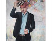 11x14 Fink Tipping Hat...