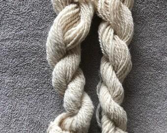 Handspun 100% Alpaca Yarn - Highland Kinkaid