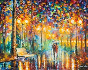 Wall Art On Canvas Famous Painting By Leonid Afremov
