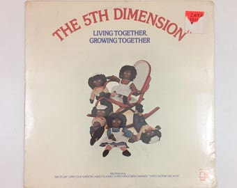 Vintage The 5th Dimension Living Together, Growing Together Vinyl Record LP [1973]
