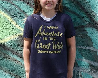 I Want Adventure Kids Tee