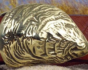 Wellfleet Oyster Shell Belt Buckle