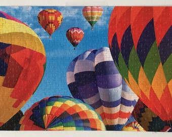 Completed Puzzle - Hot Air Balloon Fiesta