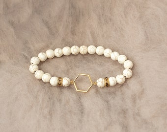 Honeycomb and Howlite