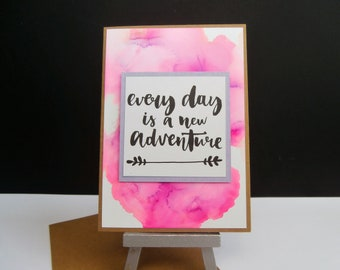 Card all occasions - handmade