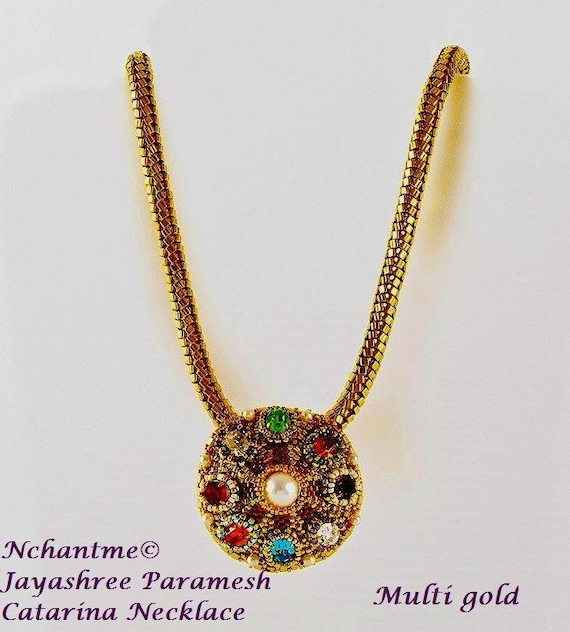 Catarina Necklace Tutorial Instant Download