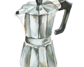 Espresso Yourself - Coffee - Art Print - 5 x 7 in.