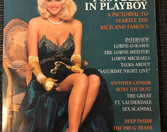 Vintage Playboy Magazine 1992